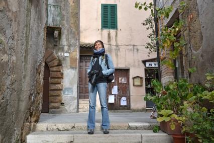 Basia w Pitigliano