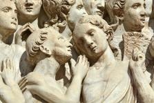 Detale frontu Duomo di Orvieto