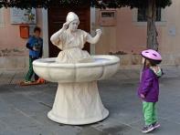 Żywa fontanna - festiwal sztuk ulicznych w Koprze