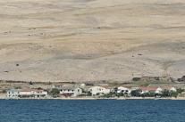 Pustynny krajobraz Pagu