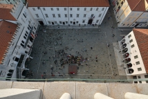 Koper - serce miasta i zarazem główna festiwalowa scena