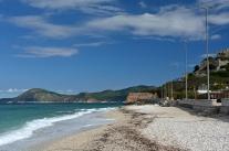 Miejska plaża w Portoferraio