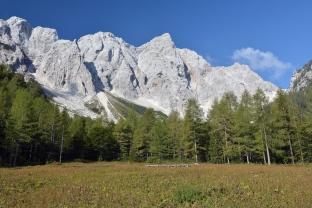Alpy o poranku (Słowenia)