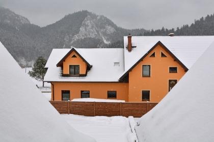 Zima w Sromowcach Niżnych