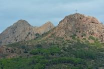 Górzysta część wyspy