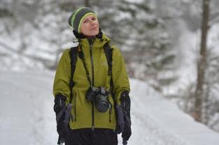 Basia na zimowych szlakach Pienin