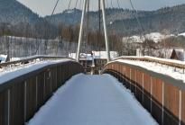 Graniczny most nad Dunajcem