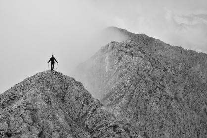 Moje miejsce na ziemi (Alpy Kamnicko-Sawińskie, Słowenia)