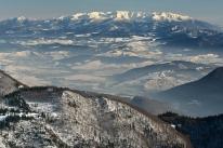 Rzut oka na Tatry (Mała Fatra, Słowacja)