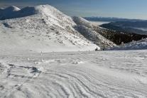 Zima na szlakach Małej Fatry (Słowacja)