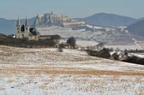 Okolice Lewoczy - wpisane na listę UNESCO Zamek Spiski i Spiska Kapituła