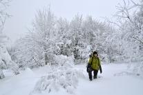 Zabawy w śniegu (Pustevny)