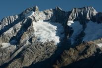 Krajobraz alpejski (Valais, Szwajcaria)