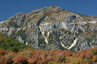 Jesień na wzgórzach Prowansji