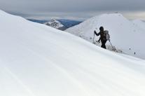 Zima na fatrzańskich szlakach